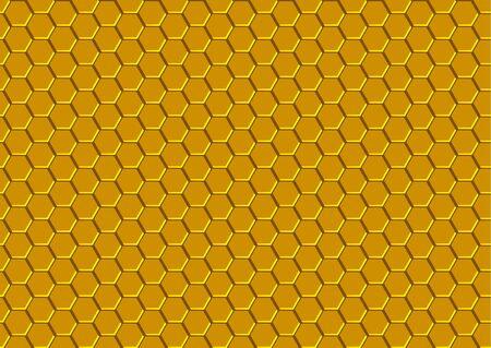 mosaic background: Honeycomb Texture  Background Pattern Illustration Vector Illustration