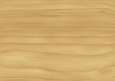Wooden Background - Natural Texture Illustration, Vector