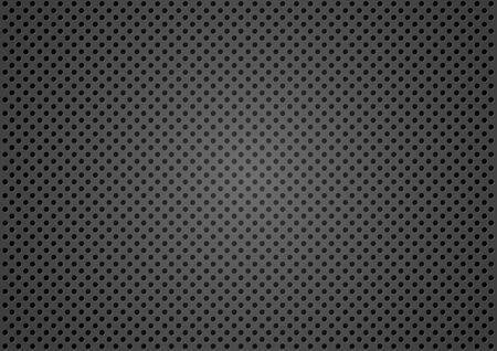 tel kafes: Dotted Metallic Texture Background - Wire Mesh Pattern, Vector Çizim