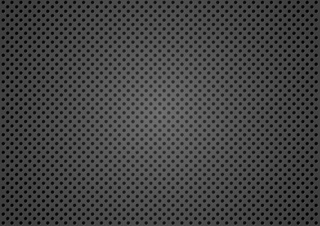 steel industry: Dotted Metallic Texture Background - Wire Mesh Pattern, Vector Illustration
