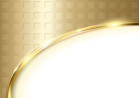 Golden Textured Background - Abstract Illustration