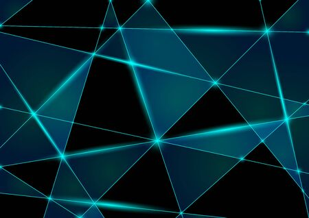 mesh: Abstract Triangle Mesh Background - Illustration, Vector