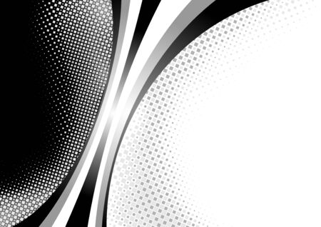graphic background: Abstract Background with Stripes and Squared Effects - Illustration, Vector Illustration
