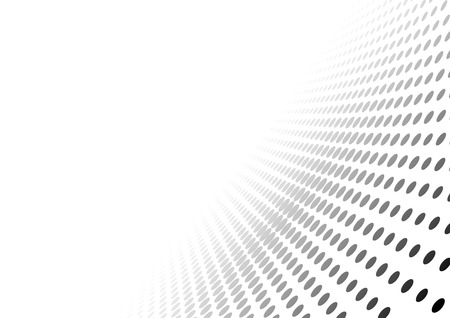 Abstract Dotted Perspective Background - Gradient Effect Illustration, Vector