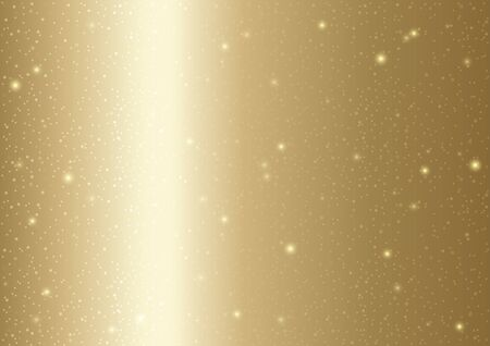 matting: Gold Textured Background - Grainy Pattern with Glittering, Vector Illustration