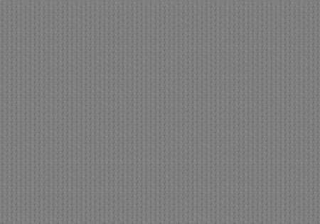 three dimensional shape: Gray Hexagonal Texture - Geometric Background Illustration