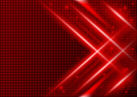 light beams: Red Abstract Background with Light Beams Effects - Illustration, Vector Illustration
