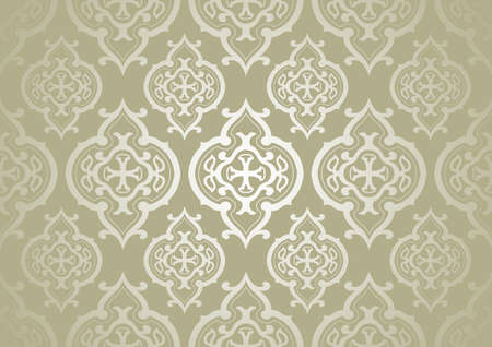 brocade: Pattern Background - Repetitive Tiled Texture, Illustration