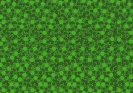 spongy: Green Dotted Texture - Background Illustration, Vector