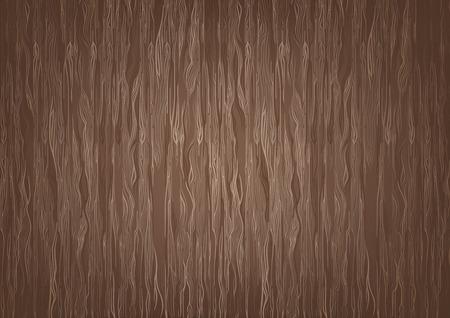 木製ブラウン テクスチャ背景 - 抽象的なイラスト、ベクトル