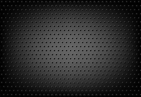 fondo de la rejilla del metal perforado - malla del alambre . ilustración del vector