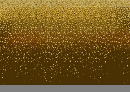 Gold Glitter Background - Glittering Abstract Illustration, Vector