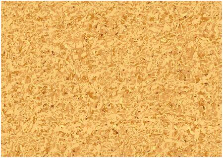 Seamless Abstract Cork Texture - Rough Pattern Background Illustration, Vector Ilustração