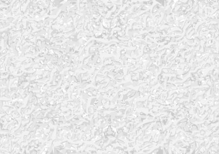 Seamless White Coarse Texture - Background Illustration, Vector