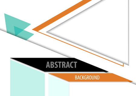 Abstract Geometric Triangle Background Design for Presentation or Flyer or Brochure or Other Presentation - Minimalist Graphic Illustration, Vector 免版税图像 - 152323056
