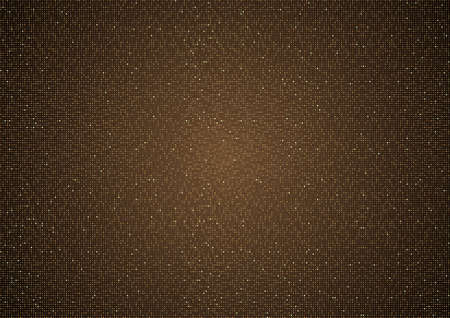 Copper Halftone Background Texture with Dotted Structure - Fine Pattern for Your Graphic Design Illustration, Vector Design Element 免版税图像 - 153572011