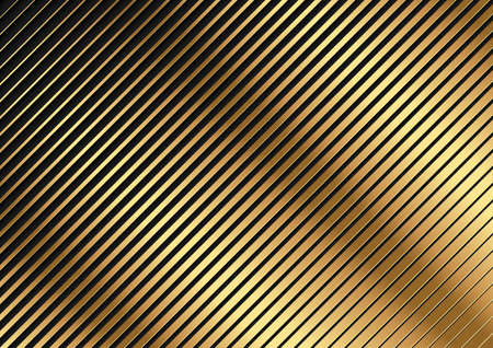 Golden Diagonal Striped Pattern - Abstract Background Illustration for Your Graphic Design, Vector 免版税图像 - 155126608