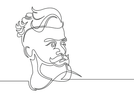 211 Mens Hairstyle Stock Illustrations Cliparts And Royalty Free