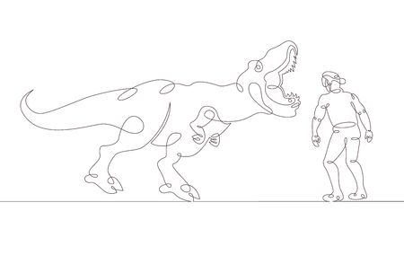 One continuous single drawn line art doodle   . Isolated image  hand drawn