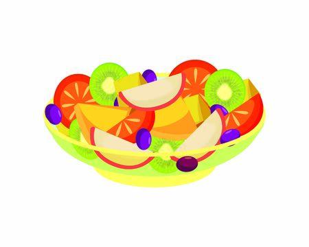 A Bowl of Fruits Salad