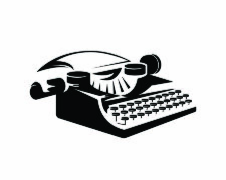Old and Antique Typewriter Illustration