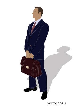 claim: businessman in a suit