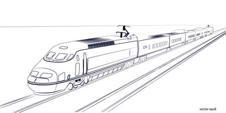 directly: high-speed train