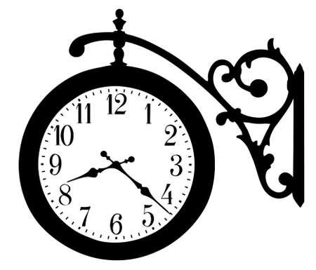 old street hours Stock Vector - 15888117