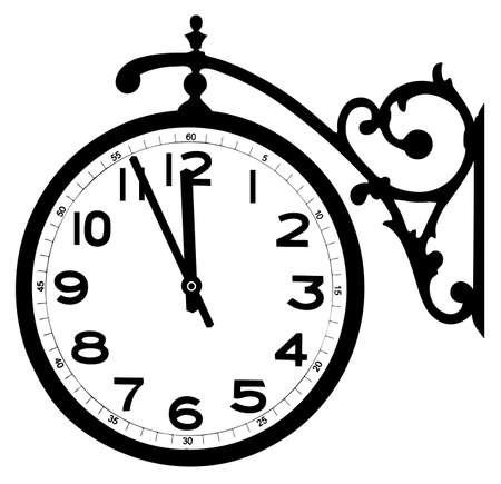 old street hours Stock Vector - 15888042