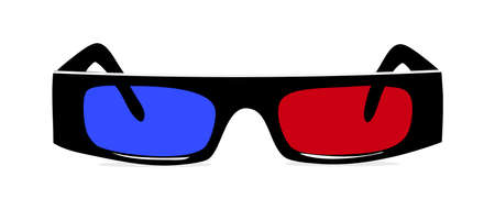 3 d illustrations: 3D Glasses