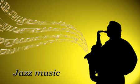 jazz musician Stock Vector - 15933457
