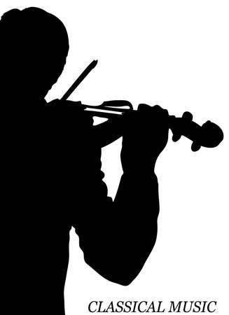violinist Stock Vector - 15933417