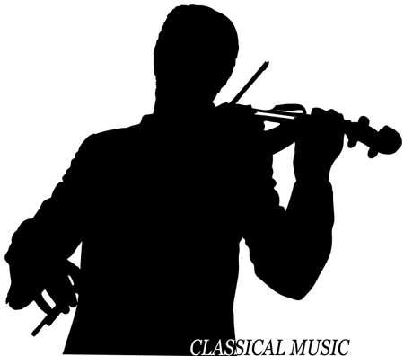violinista: violinista Vectores