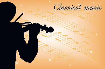 stage performer: violinist