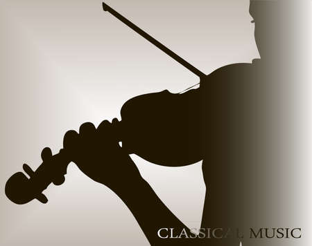 classical theater: violinist