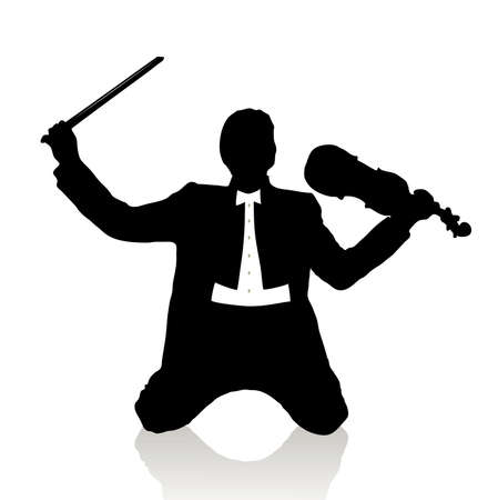 violinist Stock Vector - 15933367