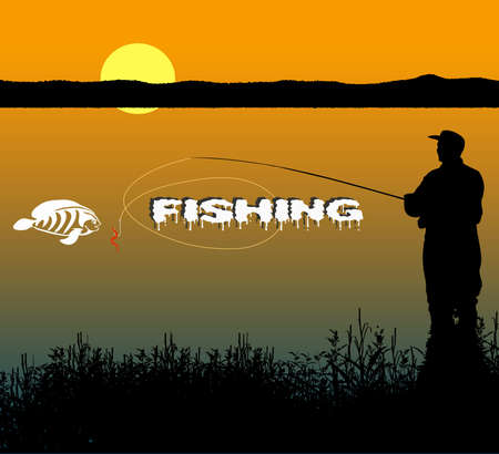 fishing Stock Vector - 16007617