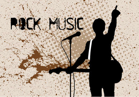 rock musicians Stock Vector - 16007566