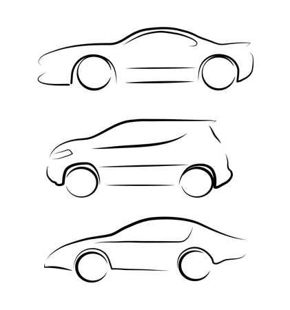 car silhouette Illustration