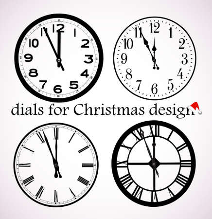 Christmas dials Stock Vector - 16103021