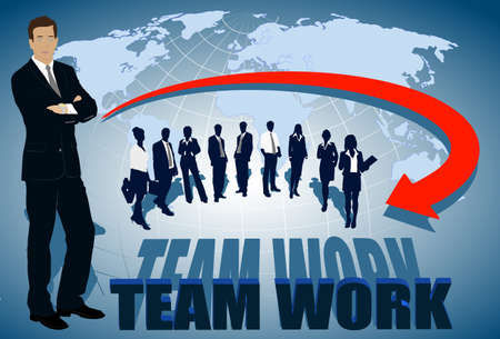 business confidence: team work