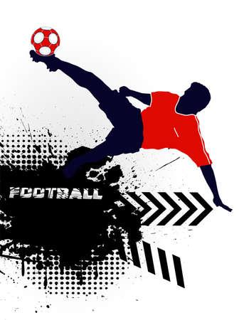 football player Stock Vector - 16215168