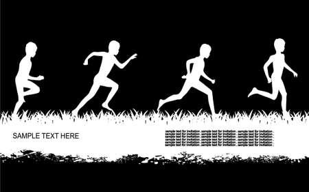 children running: running children
