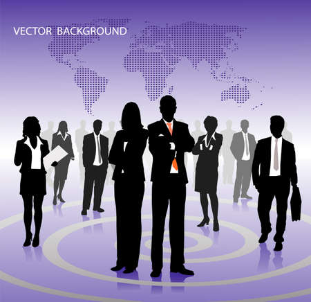 on the image abstract business a background is presented Vector