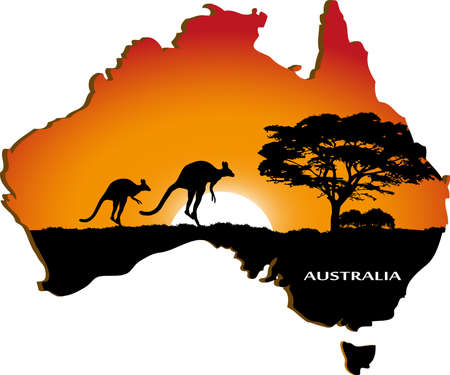 australia landscape: Australian continent
