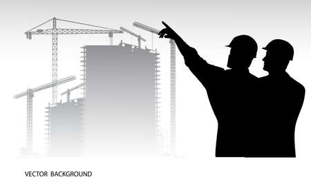 industrial background Illustration