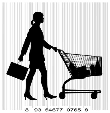 grocer: people with shopping