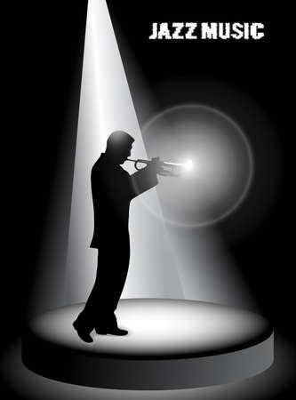 jazz musician Stock Vector - 19245627