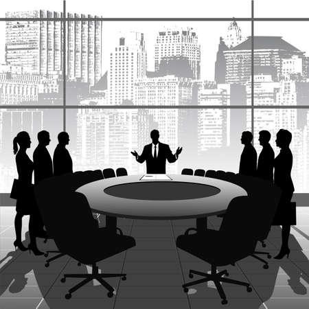 business meeting Stock Vector - 19314840