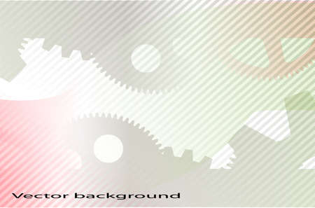 rack wheel: abstract technology background
